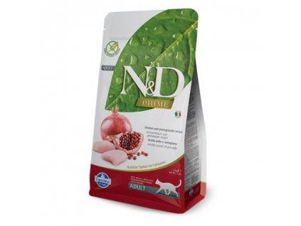 n d grain free cat adult chicken pomegranate 5kg