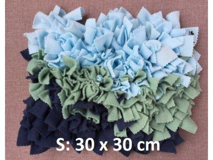 čmuchací kobereček hustý mix S