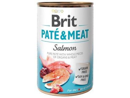 konzerva brit pate meat salmon 400g