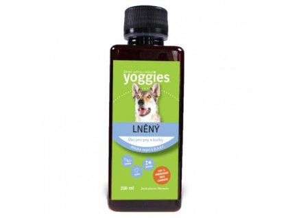 Yoggies olej len 250 ml