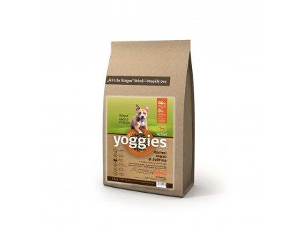 Yoggies Active Kachna a Zvěřina 1,2 kg