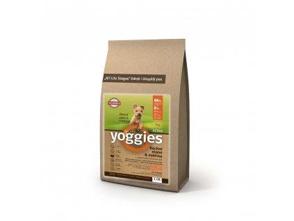855 1 2kg minigranule yoggies active kachna a zverina granule lisovane za studena