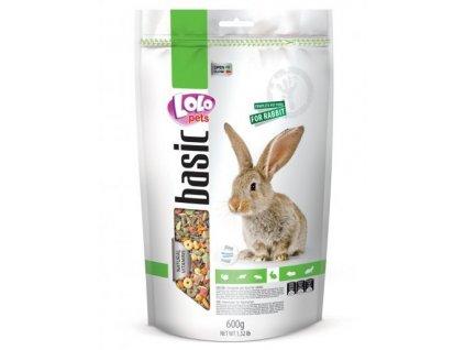 LOLO PETS krmivo pro králíka 0,6 kg