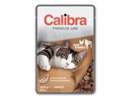 calibra cat kapsa premium adult lamb poultry 100g