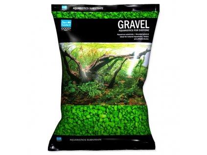 Písek AQUA EXCELLENT 3 6 mm svítivě zelený (3kg)