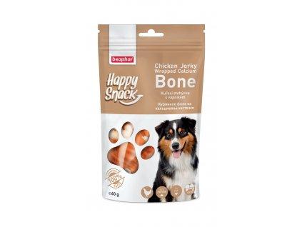 Pochoutka Happy Snack Dog kuřecí stehýnka s vápníkem 60 g