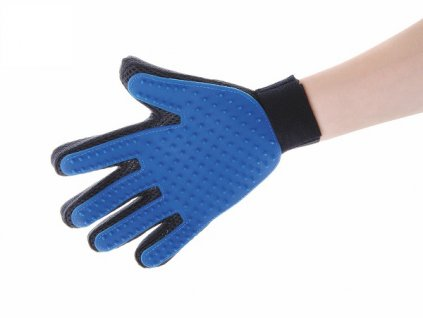 jk animals vycesavaci masazni rukavice pro psy 1