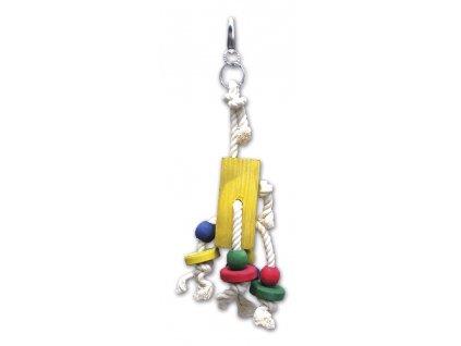 Hračka pro velké papoušky 548, 25 cm