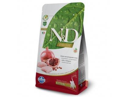 N&D PRIME CAT KITTEN Chicken & Pomegranate 300 g