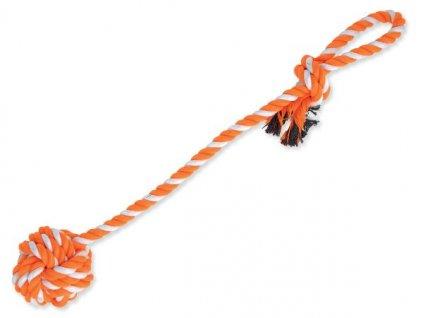 2311 1 pretahovadlo dog fantasy hazeci oranzovo bile 55 cm