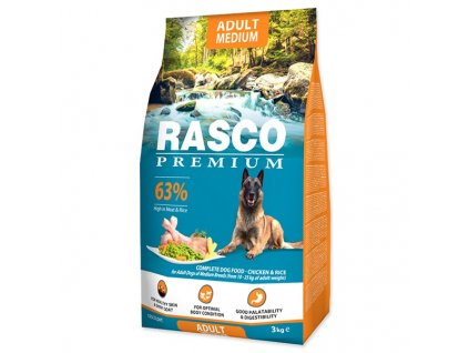 RASCO Premium Adult Medium (3kg)