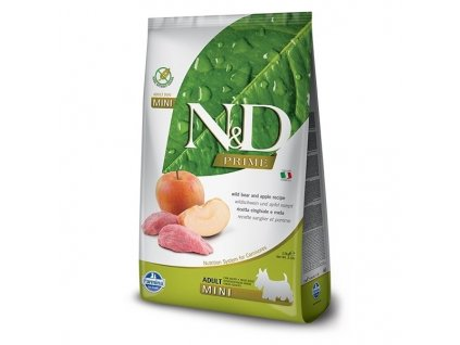 N&D PRIME DOG Adult Mini Boar & Apple 800g