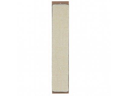 Škrábadlo nástěnné 11x60 cm - béžové