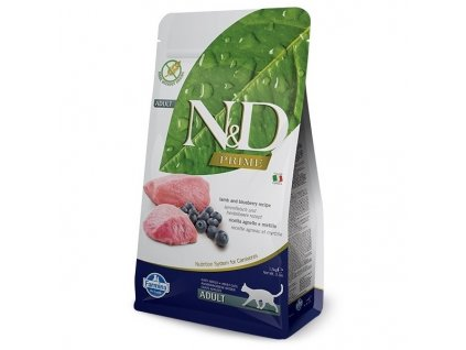 n d prime cat adult lamb blueberry 1 5kg original