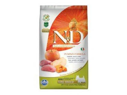 N&D GF Pumpkin Adult Mini Boar&Apple 2,5 kg