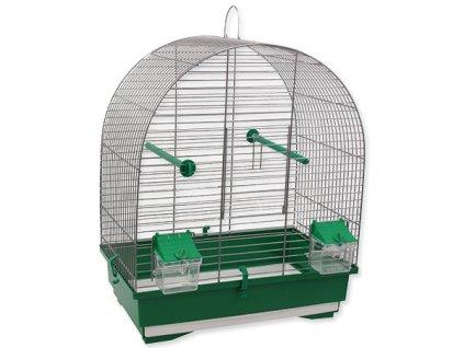 Klec BIRD JEWEL KS8 šedá + zelená 1ks