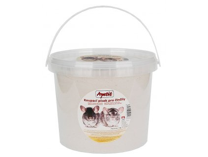 Apetit písek pro činčily, kbelík 4kg