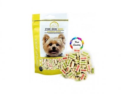 fine dog mini kalciove kosticky 100g