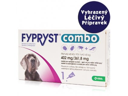 Fypryst Combo spot on dog XL nad 40kg