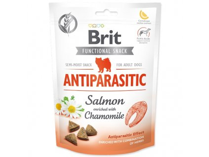 BRIT Care Dog Functional Snack Antiparasitic Salmon (150g)