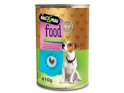 konzerva hm kureci maso ve stave pro psy 400 g