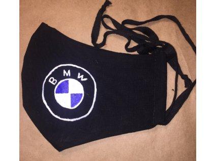 rouška malovaná BMW