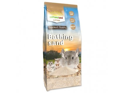 Písek NATURE LAND koupací pro činčily 1 kg