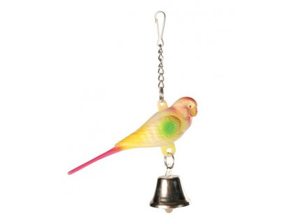 hracka ptacek umely trixie 9cm original