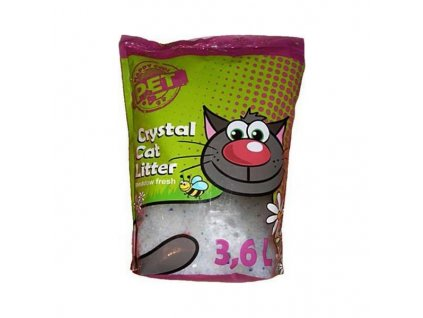 Podestýlka Happy Cool Pet Silica s vůní 3,6 l