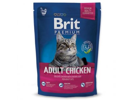 new brit premium cat adult chicken 800g