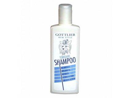 Gottlieb Yorkshire šampon s makadamovým olejem 300 ml