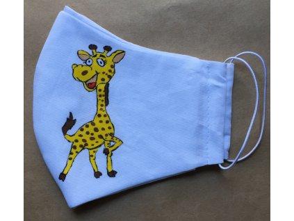 žirafa malovaná