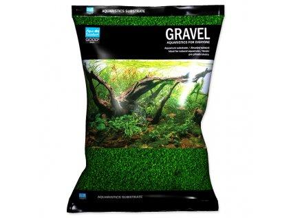 Písek AQUA EXCELLENT 1,6 2,2 mm zelený (3kg)