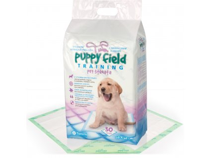 puppy field pleny 60x60 30 ks