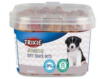 JUNIOR Soft Snack Dots s Omega 3, 140 g