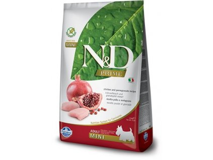 N&D PRIME DOG Adult Mini Chicken&Pomegranat 2,5 kg
