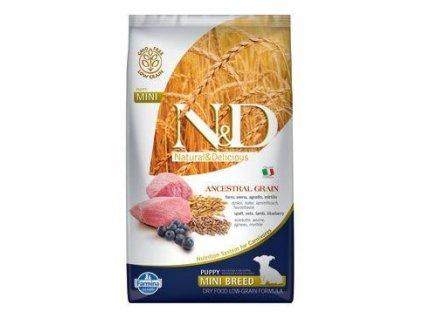 n d lg dog puppy mini lamb blueberry 2 5kg