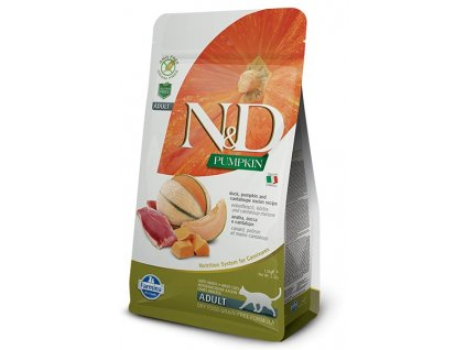 N&D Pumpkin CAT Duck & Cantaloupe melon 300 g