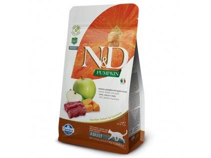 N&D Pumpkin CAT Venison & Apple 300 g