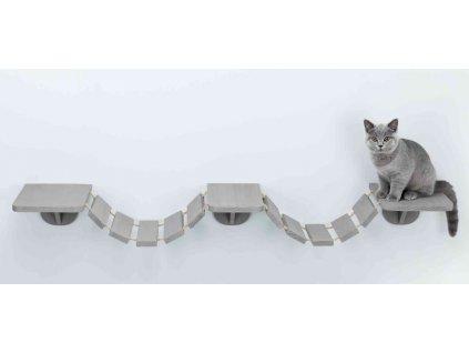 Šplhací žebřík k upevnění na stěnu