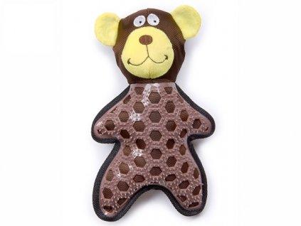 jk animals piskaci nylonova tpr hracka medved 1