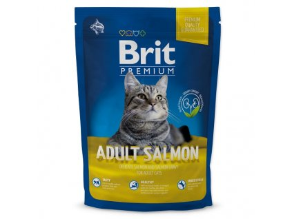 BRIT Premium Cat Adult Salmon (1,5kg)