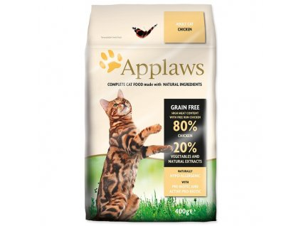 APPLAWS Dry Cat Chicken (400g)