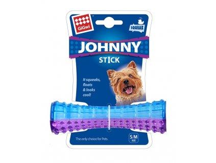 GiGwi Johnny Stick Small aport modro purpurový