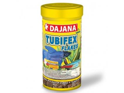 dajana tubifex flakes 250 ml 1