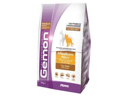 Gemon adult medium kuře & rýže 3 kg