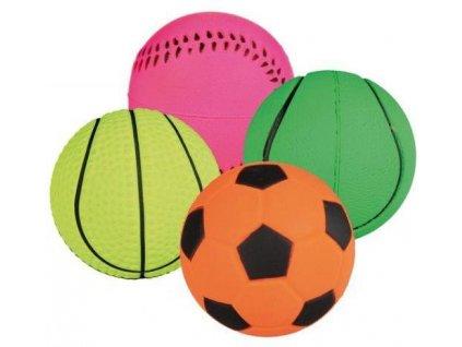 míček mechová guma 6cm