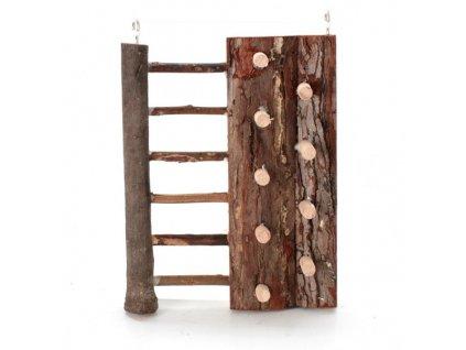 lezecka stena trixie 16x20 cm drevena