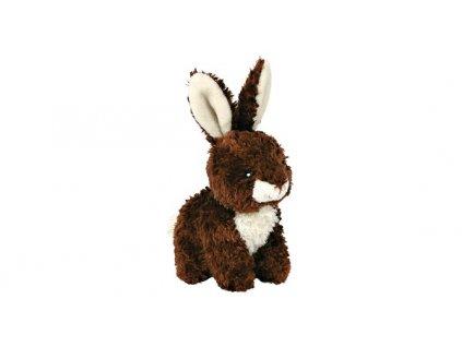 Plyšový králíček sedící 15 cm 2