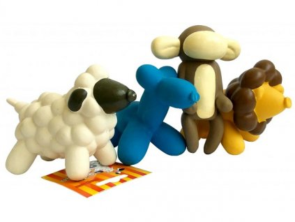 hracka mini latex 24cm pes opice ovecka lvicek